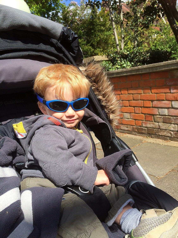 Baby Blue Wrap Sunglasses