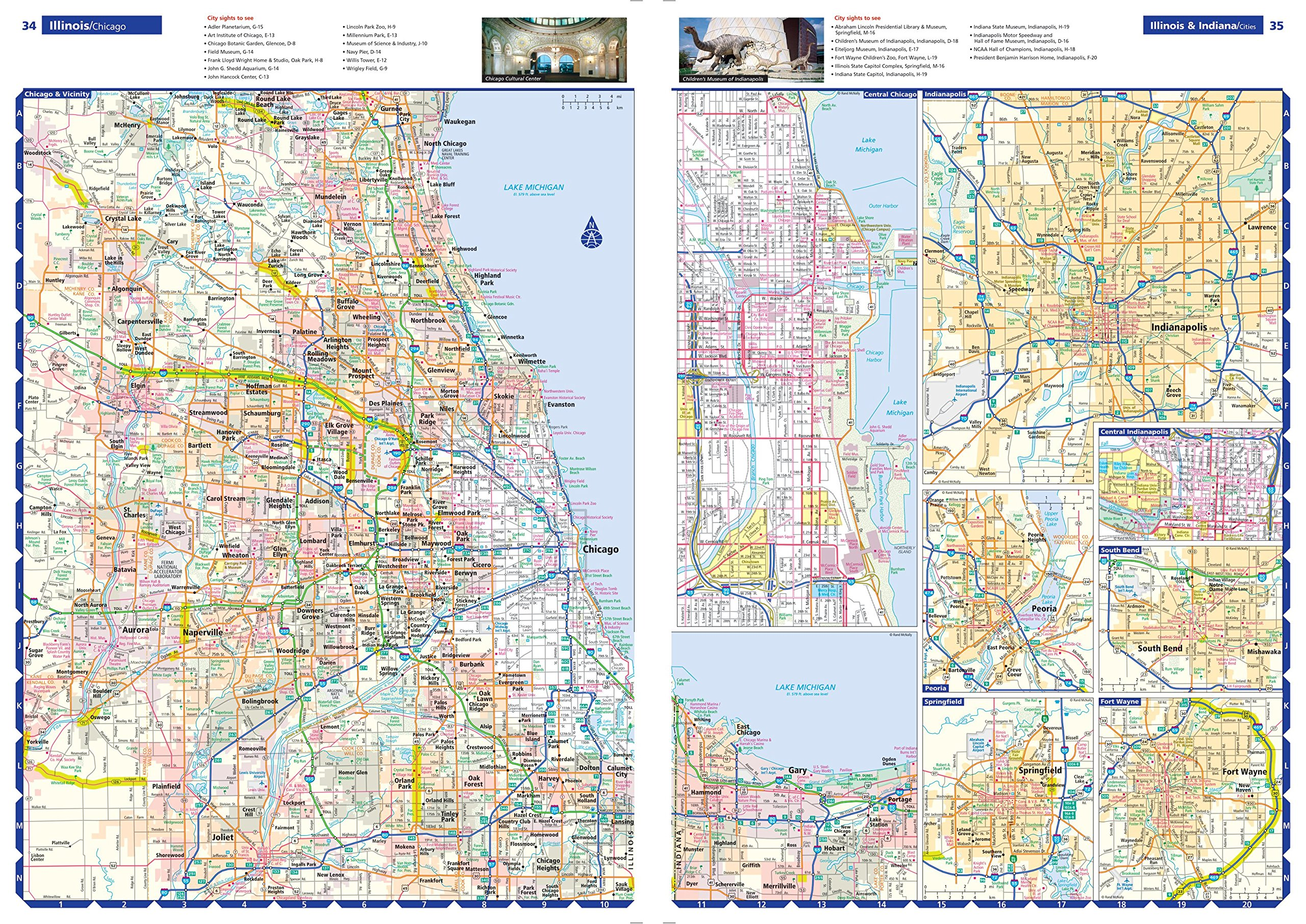 Rand McNally  Road Atlas Rand Mcnally Road Atlas United - Road atlas map of usa