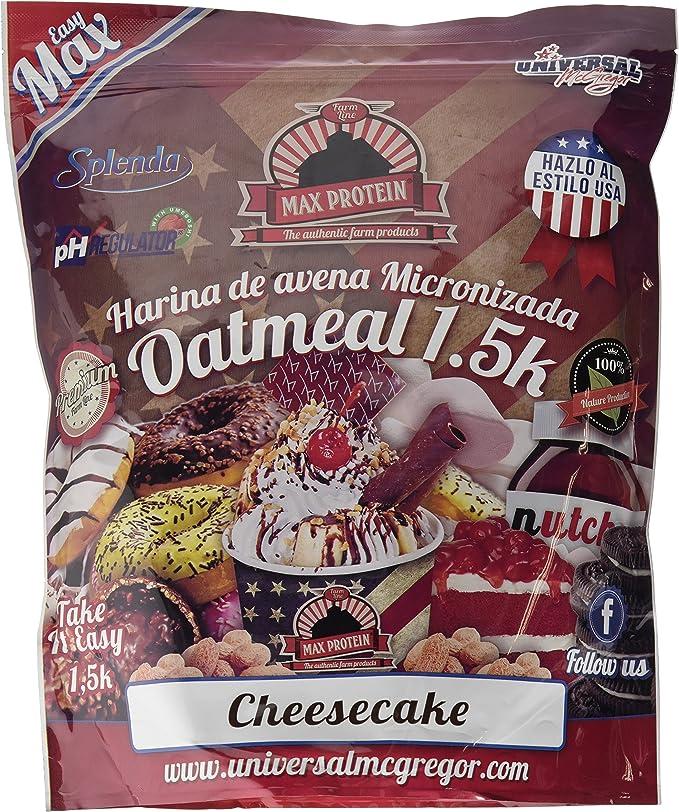 Max Protein Oatmeal Sac Harina de Avena Termo-Activada - 1500 gr ...