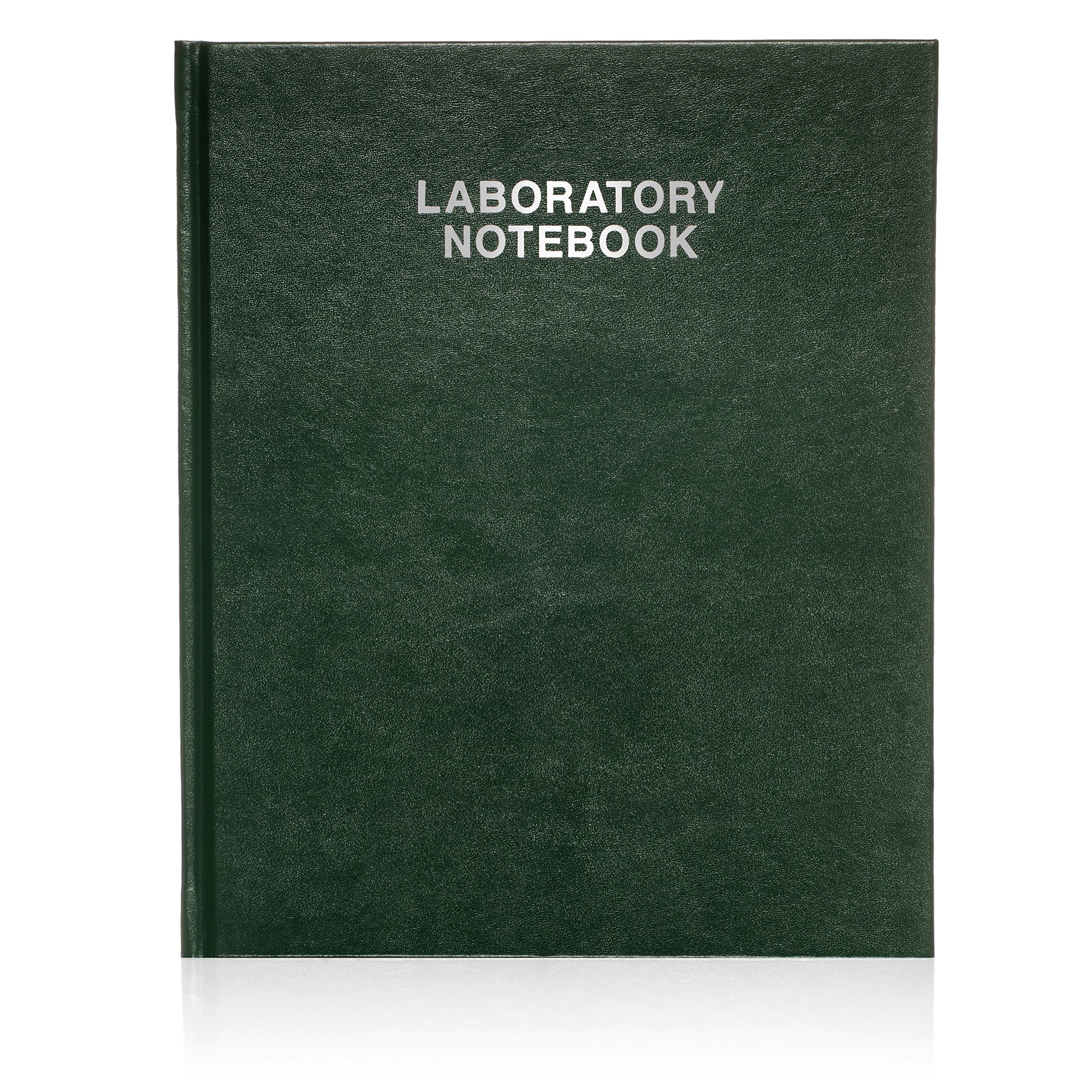 Scientific Notebook Company, Laboratory Notebook, 96 Pages 3001HC Green Hard Cover by Scientific Notebook Company