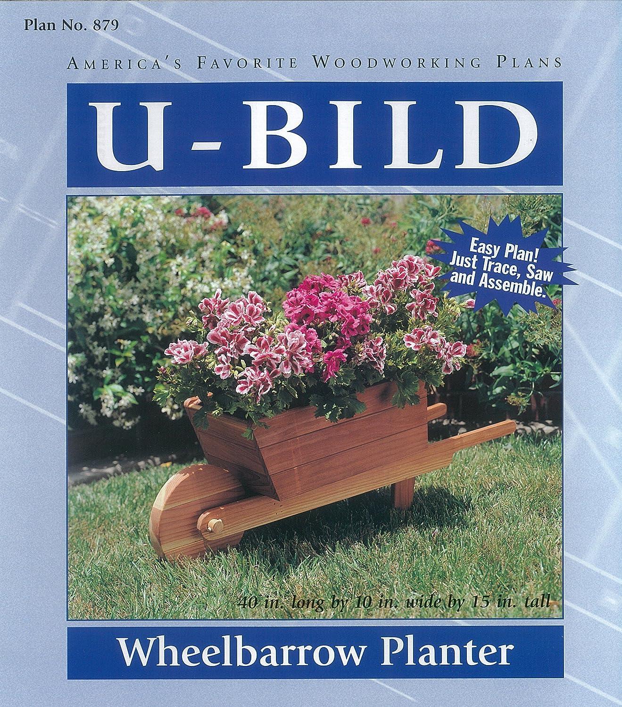 U-Bild 879 Wheelbarrow Planter Project Plan