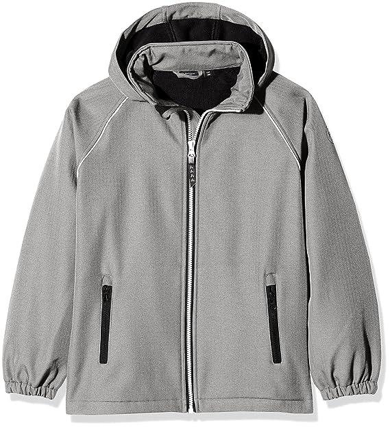 NAME IT Jungen Jacke Nitalfa Softshell Jacket Hb Grey NMT Fo