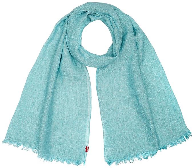 Levi's Men's New Romaine Oblong Shawl, Blue (Pale Blue), One Size (