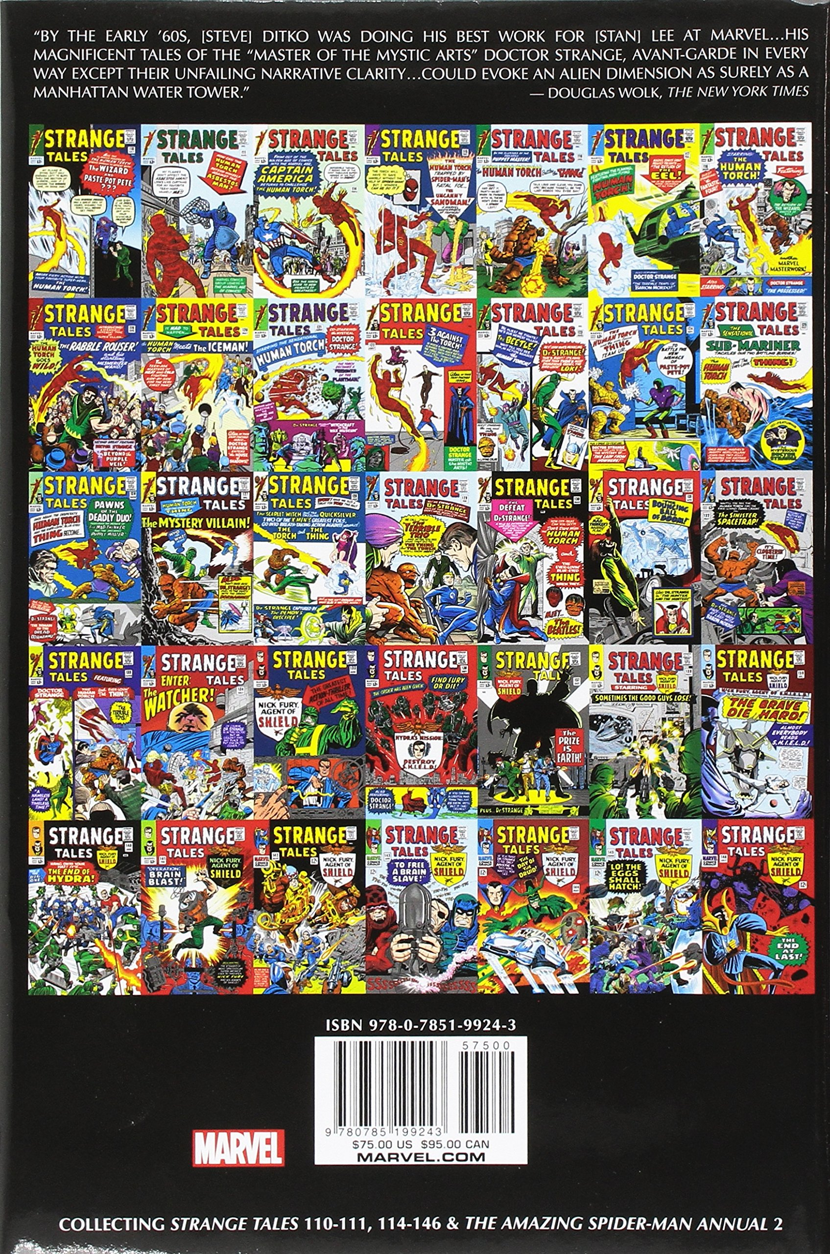 Amazon com: Doctor Strange Omnibus Vol  1 (9780785199243