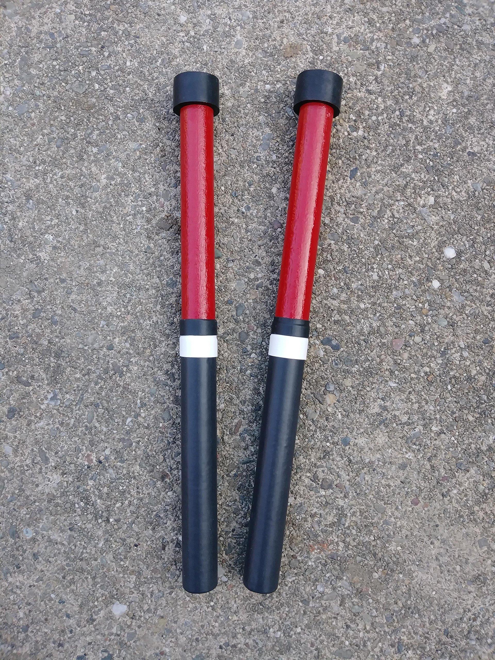 KaKesa Steel Drum Pan Mallets Sticks Wood Trini - Lead/Tenor by kakesa