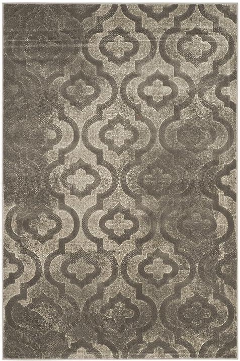 Safavieh Porcello Collection PRL7734A Grey And Dark Grey Area Rug (3u0027 X ...
