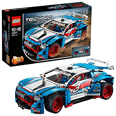 LEGO 42077 Technic Rally Car 2 in 1 Race Car-to-Buggy Model, Construction Set, Racing Vehicles Collection: Toys & Games [5Bkhe0506370]