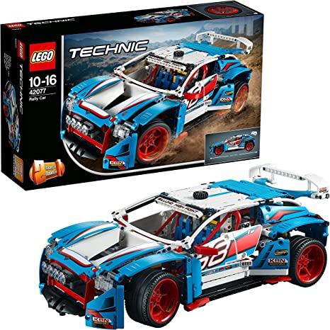 LEGO Technic Rally Car Building Blocks for Boys 10 to 16 Years (1005 Pcs) 42077 Model Car & Vehicle Kits at amazon