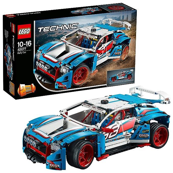 LEGO Technic Rally Car Building Blocks for Boys 10 to 16 Years (1005 Pcs) 42077 Model Car & Vehicle Kits at amazon