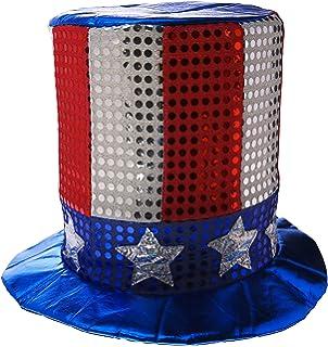 Amazon.com  Fun Express FX IN-15 432-1 Patriotic Sequin Cowboy Hat ... 16d112fac5c7