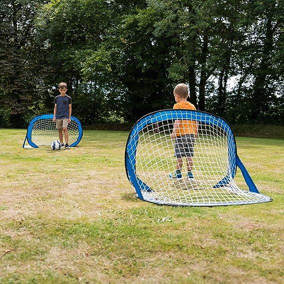 Set Of 2 Toyrific Kids Pop-Up Football Goals