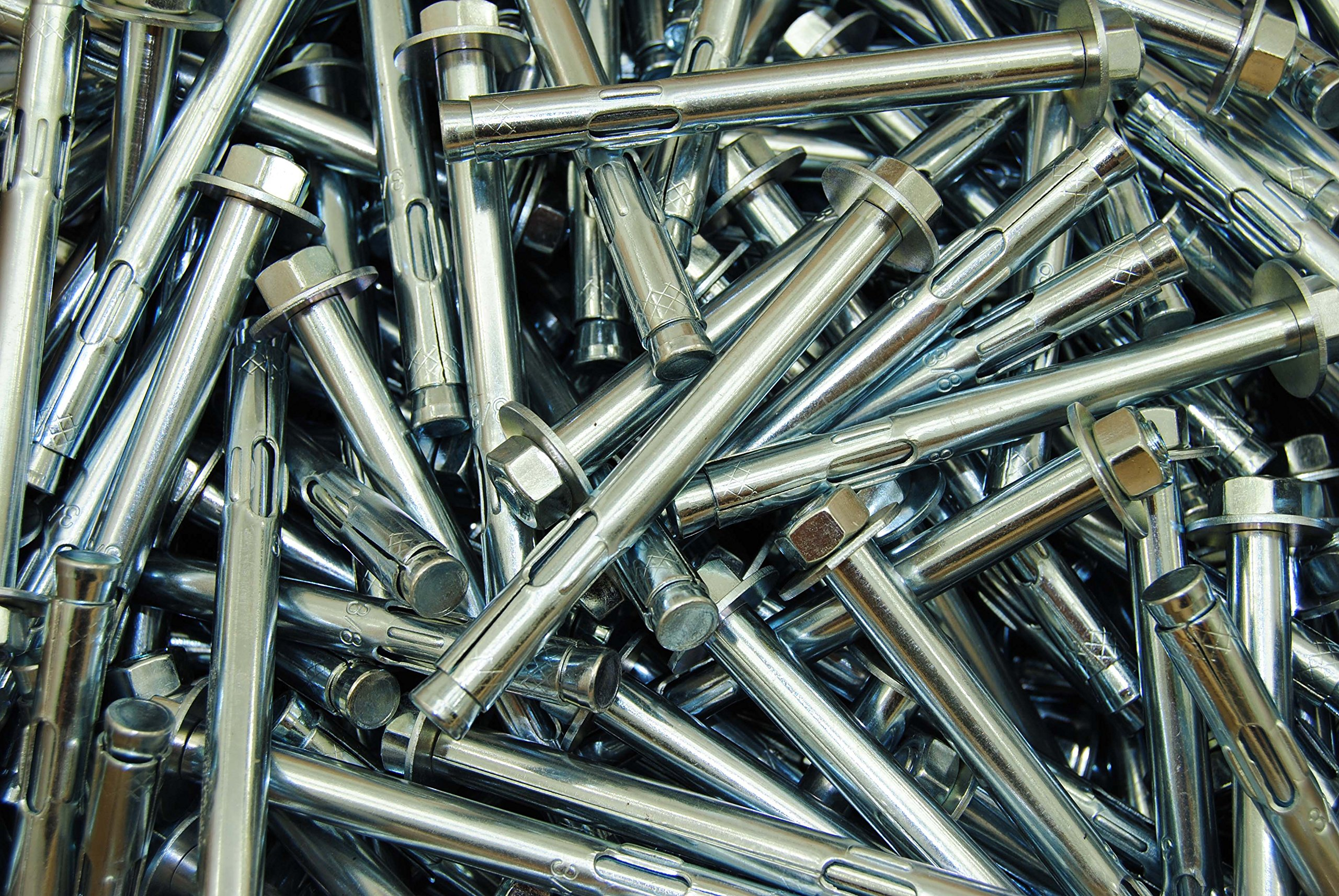 (50) Concrete Sleeve Anchors 3/8 x 4 Includes Nuts & Washers Expansion Bolts by Lexar Industrial