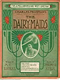 """The Dairymaids [Dairy Maids] 11"""" X 14"""" Print of Art Made Famous on """"The Dick Van Dyke Show"""""""