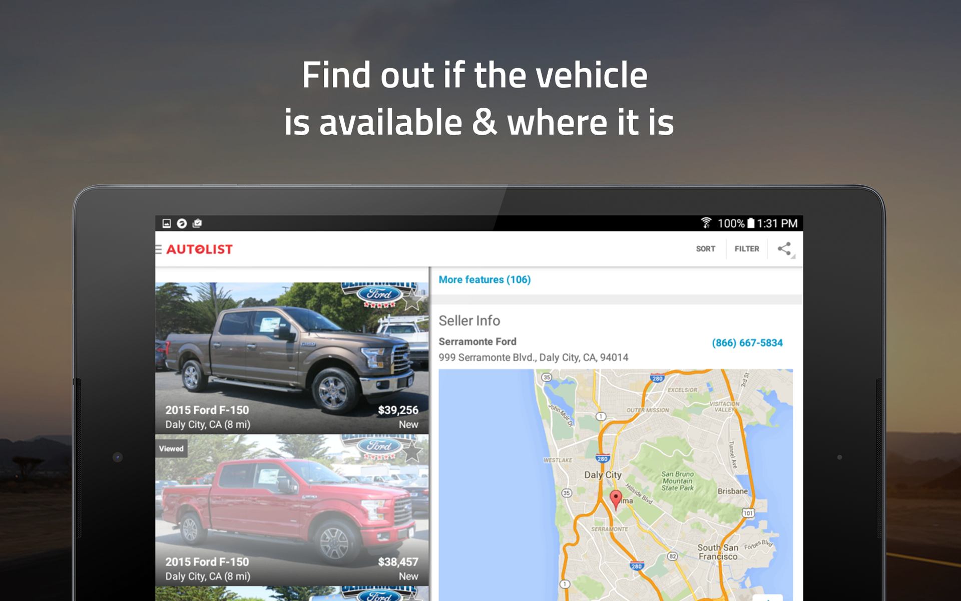 Amazon Autolist – Used Cars & Trucks for Sale Appstore for Android