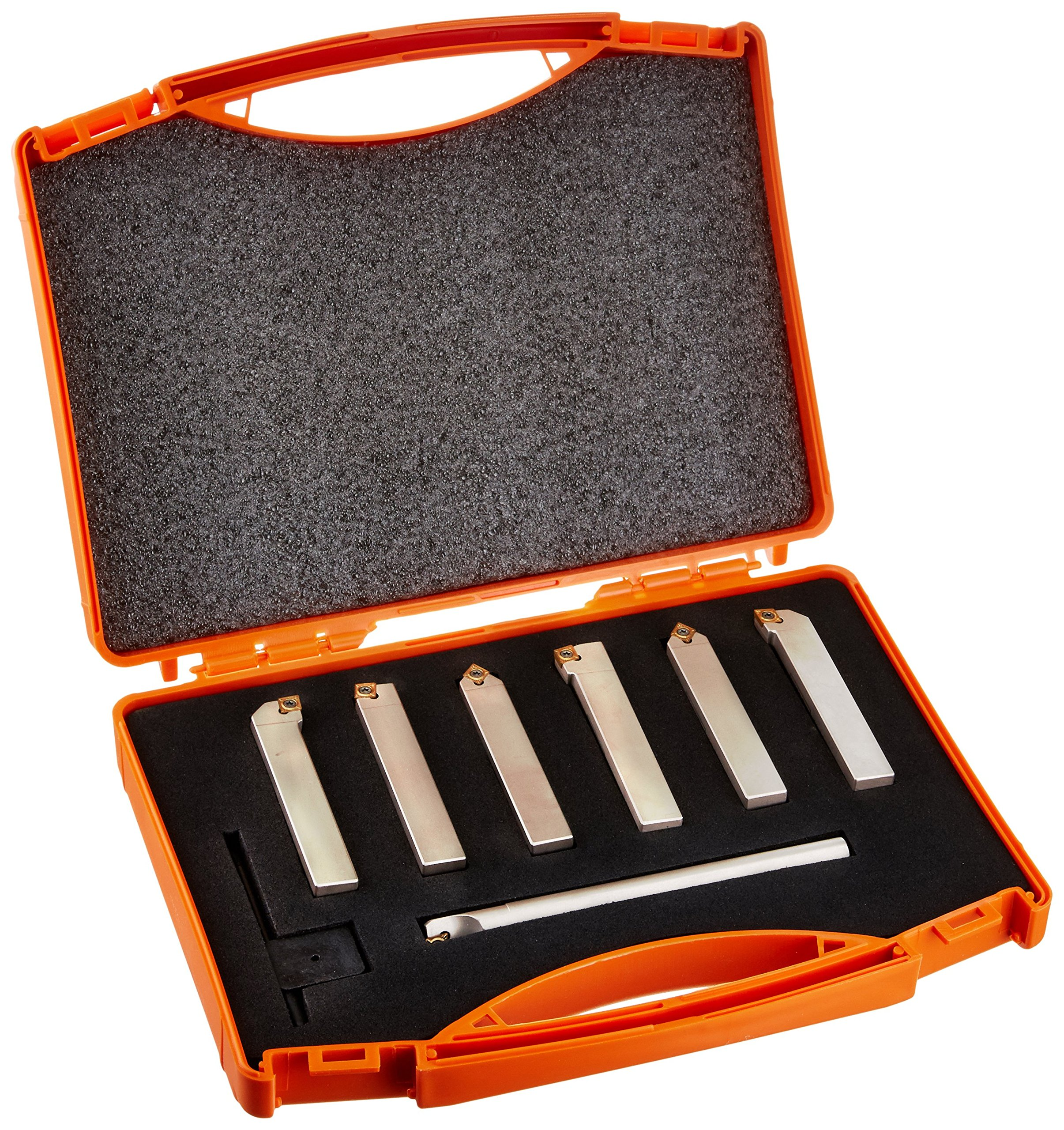Micro 100 40-7104 Indexable Multi-Purpose 7-piece Set, 1/2'' Tool Shank Diameter