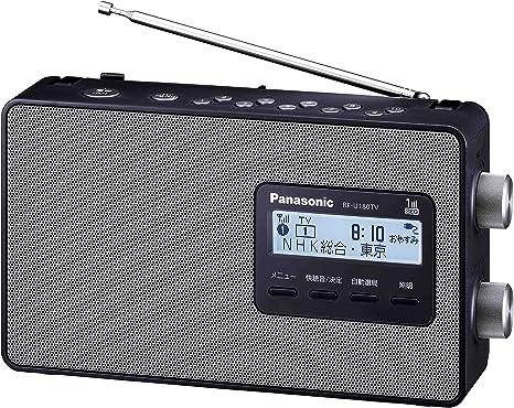 Amazon | パナソニック ラジオ FM/AM/ワンセグTV音声 3バンド ワイドFM ...