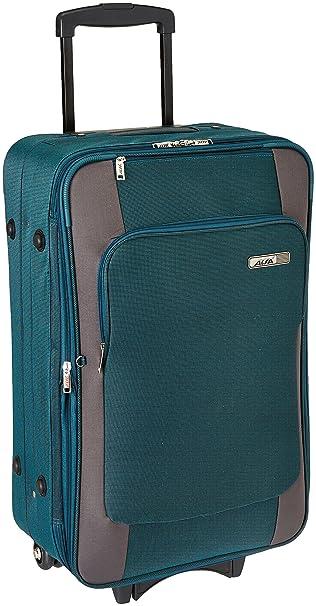 Alfa Polyester 22 cms Green Softsided Cabin Luggage (STRO2W58GRN)