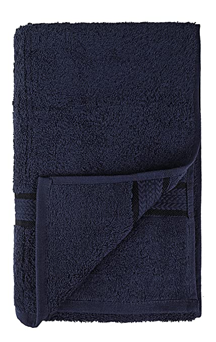 SweetNeedle Super Soft - Paquete de 4 toallas de mano 50x90 Blanco, 580 GSM - 100% algodón puro Ringspun - Borde de rayón de lujo - Ideal para uso diario ...