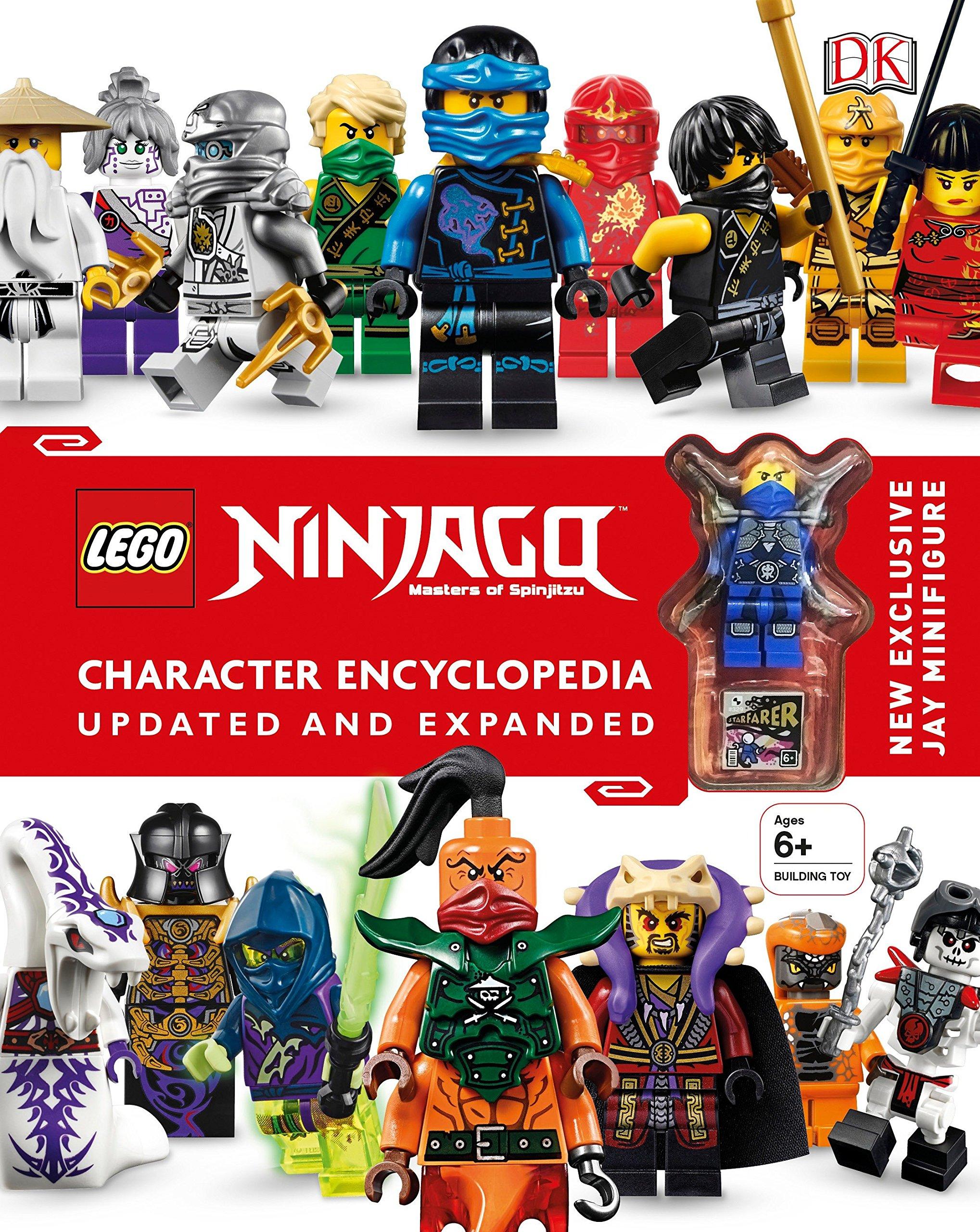 LEGO NINJAGO Character Encyclopedia, Updated Edition Hardcover – June 7, 2016 DK DK Children 1465450947 Media Tie-In