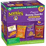 Annies Organic Variety Pack, Cheddar Bunnies and Bunny Graham Crackers Snack Packs