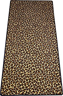 Dean Leopard Animal Print 30 X 6 Carpet Runner Rug