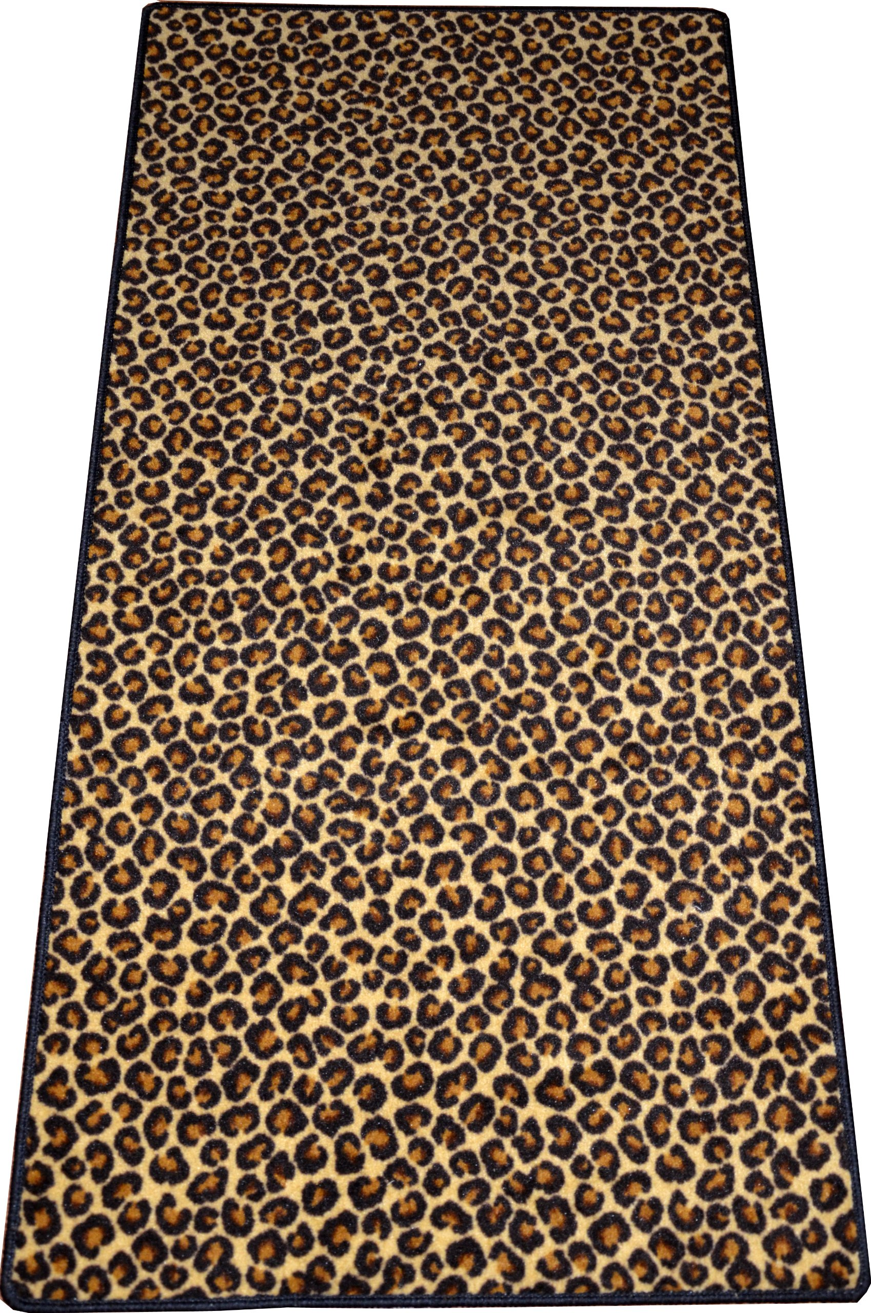 Dean Leopard Animal Print 30'' x 6' Carpet Runner Rug
