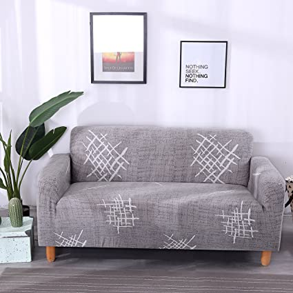 Lamberia Printed Sofa Er Stretch Couch Slipers For Couches And Loveseats With One Free