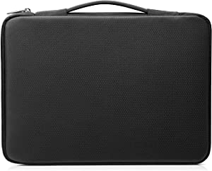 HP Duotone 15.6 Inch (39.6 cm) Black & Silver Carry Sleeve for Laptop/Chromebook/Mac