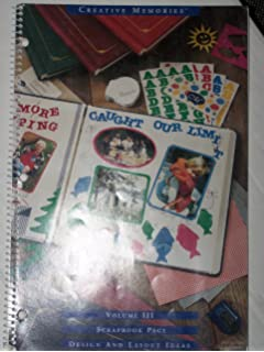 Scrapbook Page Design And Layout Ideas Volume Iv Creative Memories