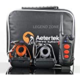 AETERTEK AT-918C 2- DOG ELECTRIC REMOTE DOG PET TRAINING VIBRATE SHOCK COLLAR WITH AUTO ANTI BARK