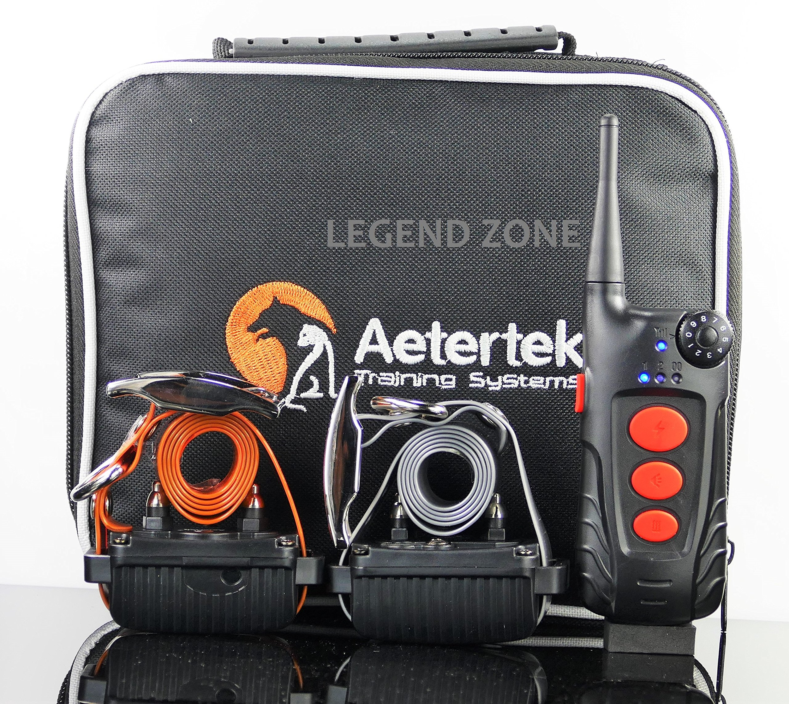 Aetertek 600 YARD REMOTE RANGE DOG TRAINING BARK CONTROL SHOCK TRAINER AUTO ANTI BARK COLLAR FOR ALL DOGS by Aetertek