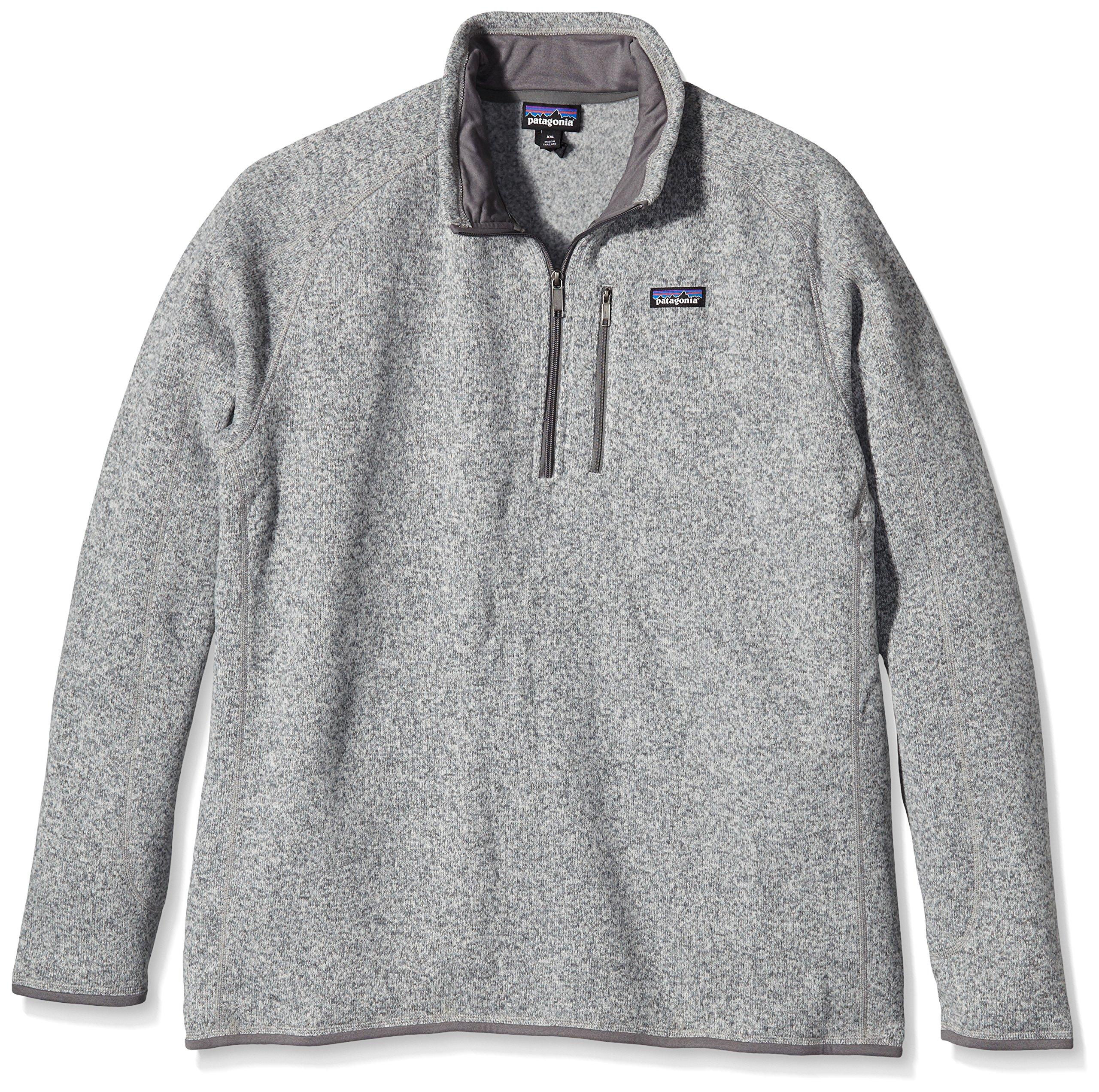 Patagonia Mens Better Sweater 1/4 Zip (Stonewash, Large) by Patagonia