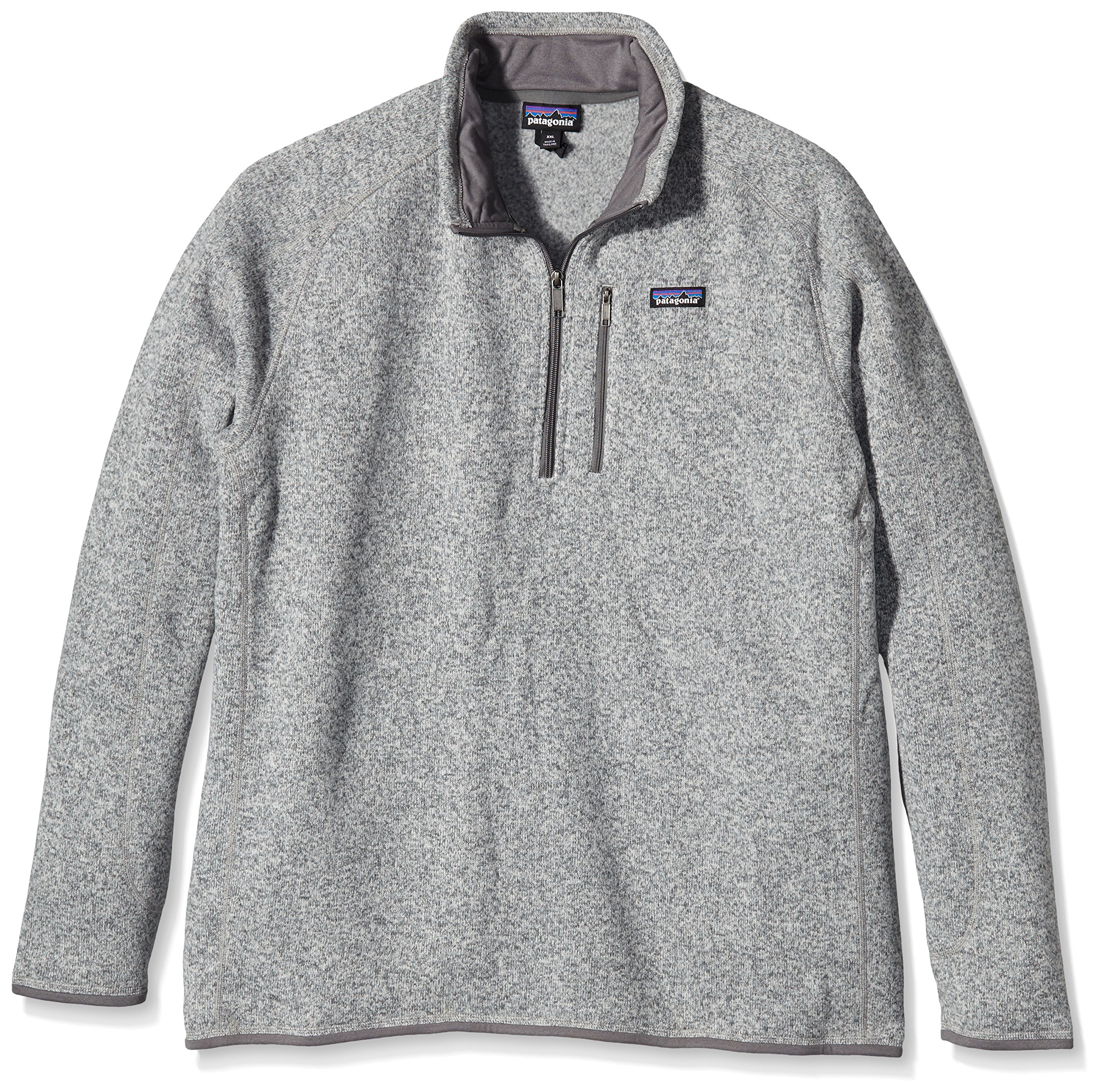Patagonia Mens Better Sweater 1/4 Zip (Small, Stonewash) by Patagonia