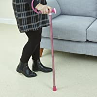 Pink Harmony Breast Cancer Awareness Walking Stick