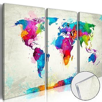 3 Teilige Bilder Welt