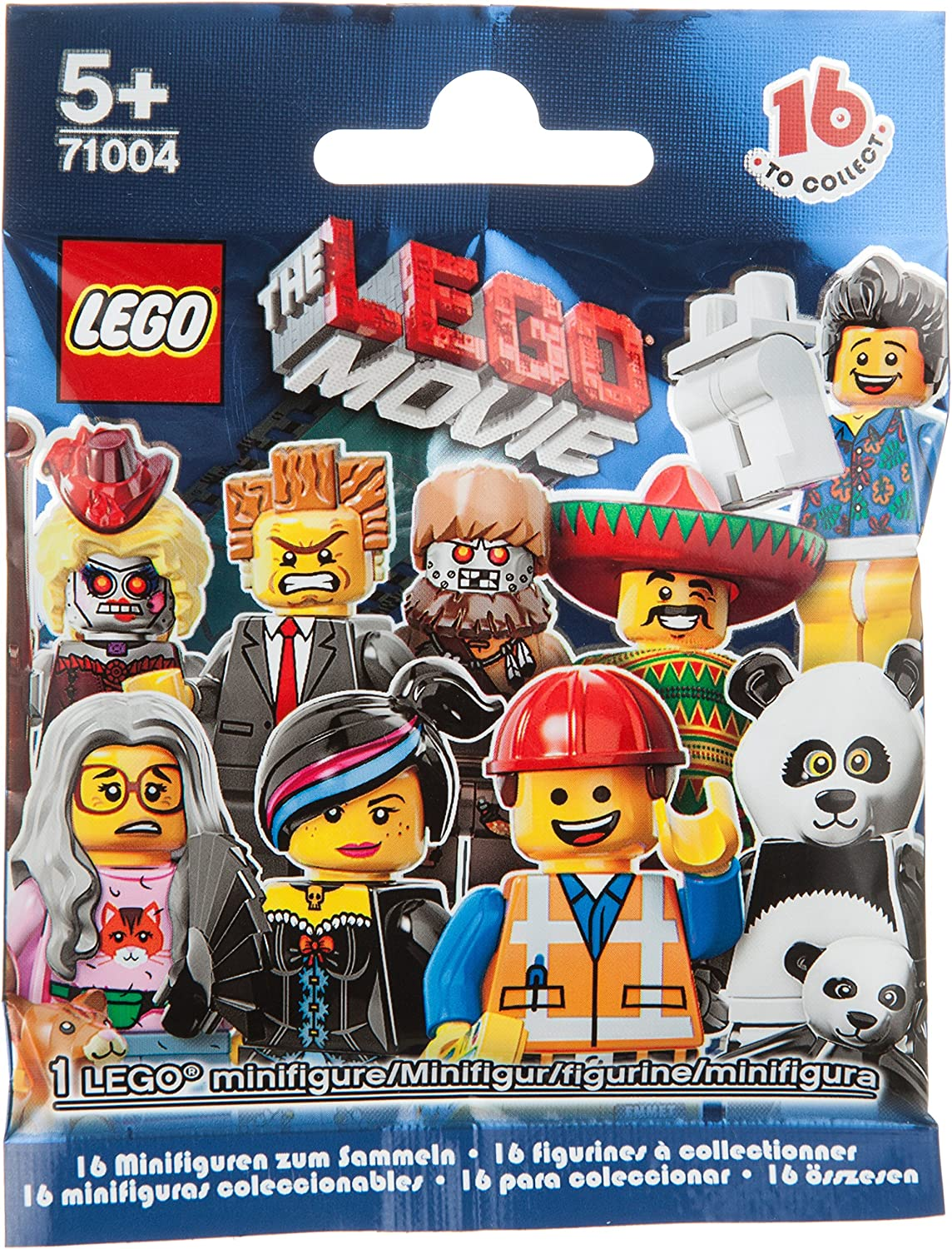 LEGO 71004 MINIFIGURE Movie Series COMPLETE SET of 16 figures w// tracking
