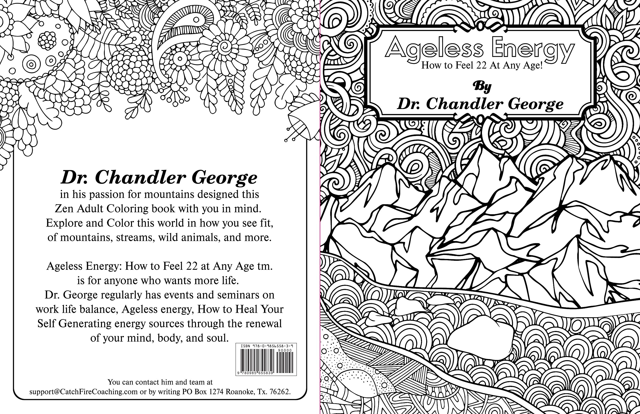 Ageless Energy Adult Coloring Book: Dr. Chandler George ...