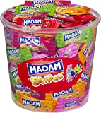 Haribo Maoam Stripes, 150 pieces, 1050g Tub