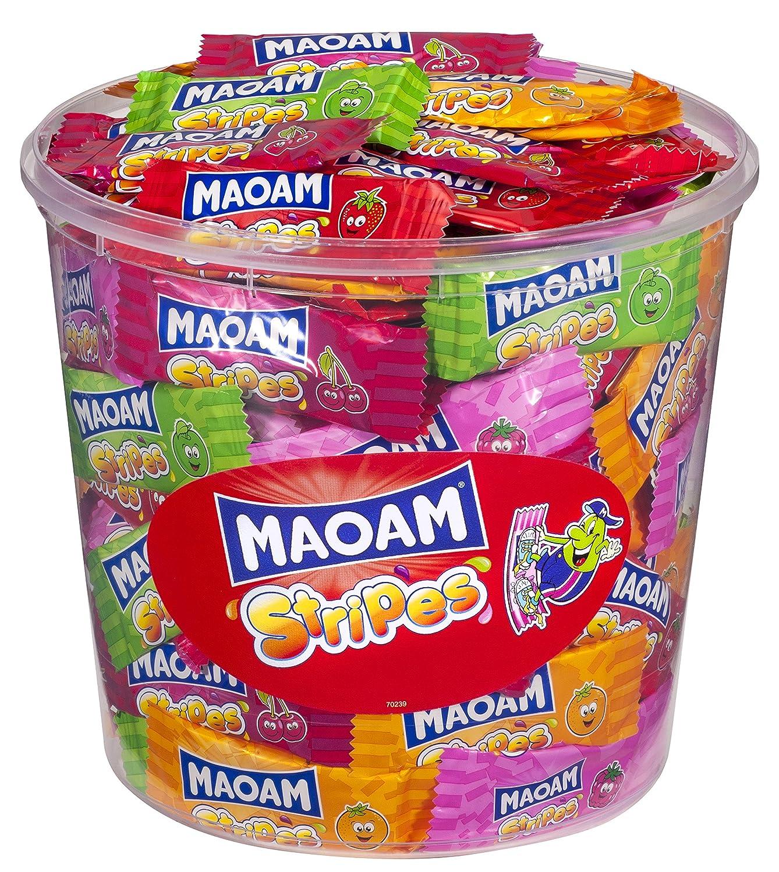 Haribo Maoam Stripes Tub -150 pcs