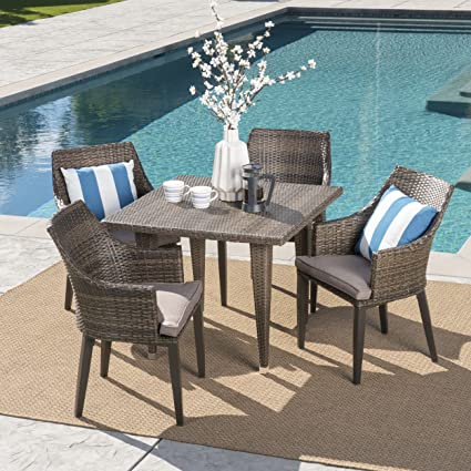 amazon com great deal furniture pacific outdoor dining set 5 rh amazon com pacific outdoor furniture costco pacific outdoor furniture cairns