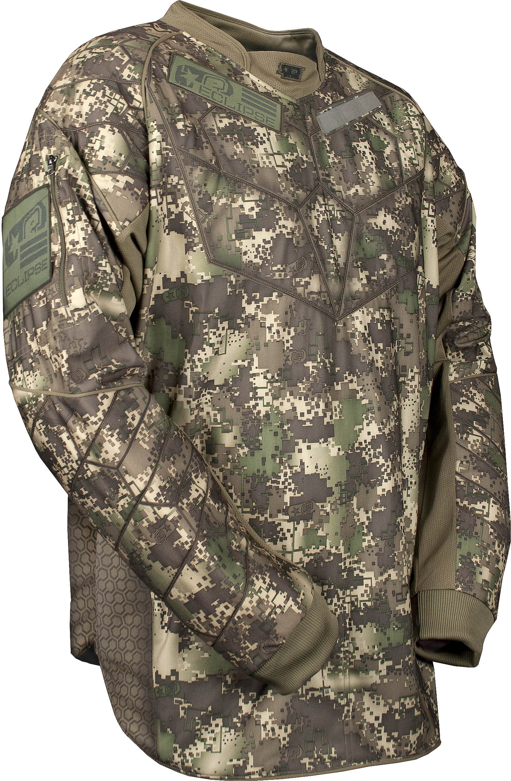 Planet Eclipse HDE Jersey - Camo - X-Small by Planet Eclipse