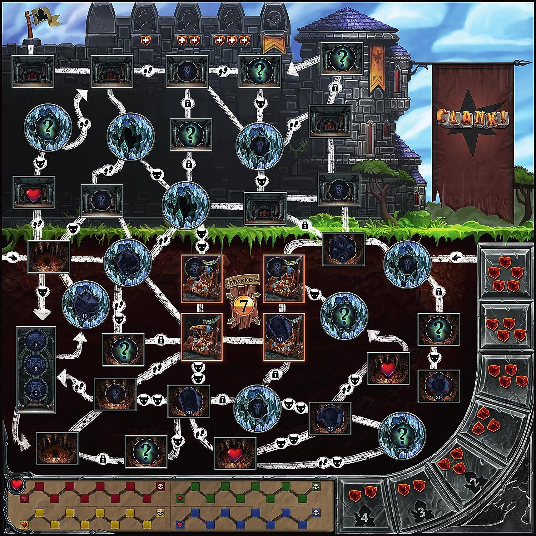 Renegade Game Studios RGS00552 - Clank, Juegos estándar de ...