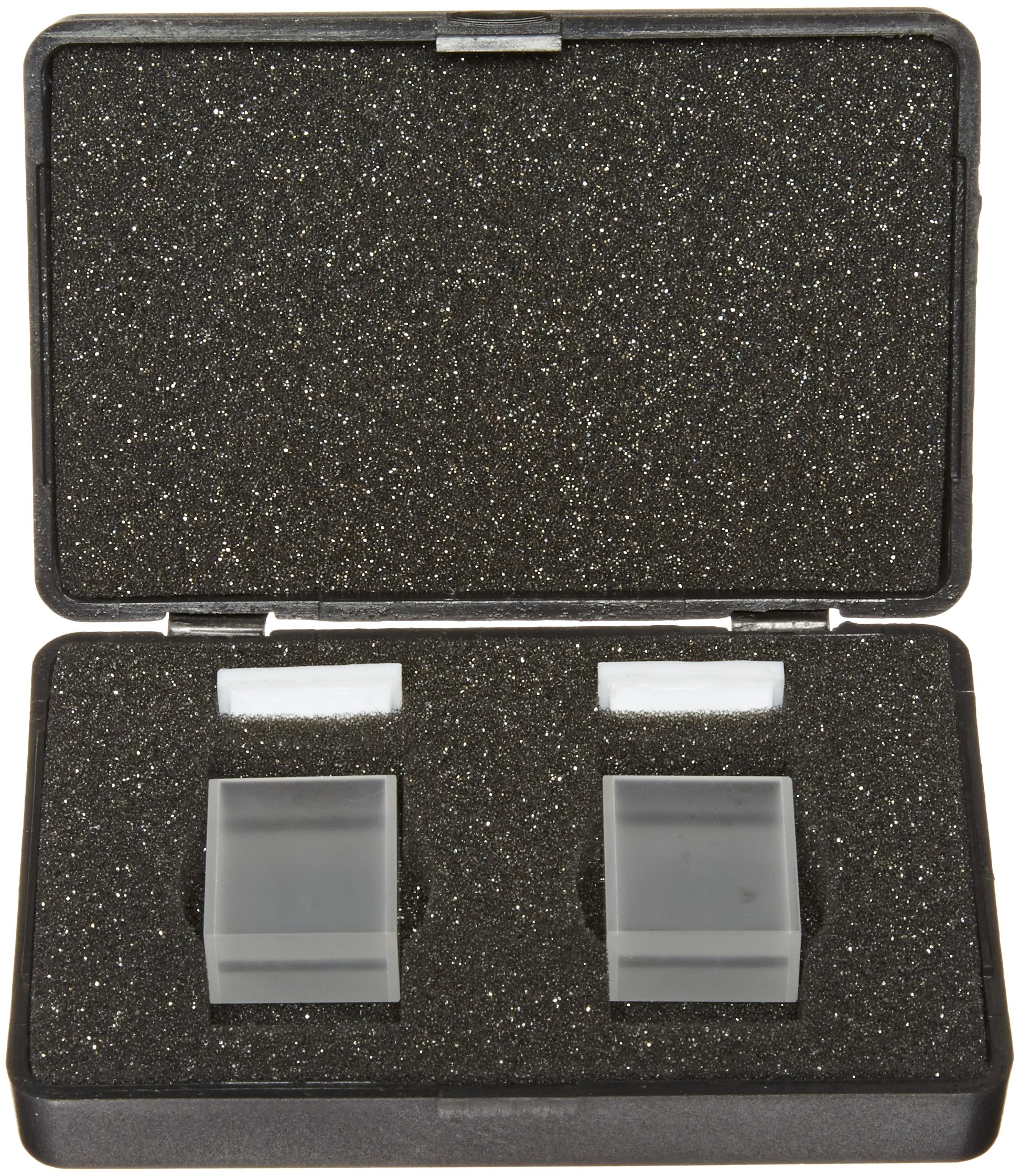 Varsal Type 17-I-20 IR Quartz Micro Short Rectangular Spectrophotometer Cell with Lid, 20mm Pathlength, 0.6ml Capacity, 180nm to 4000nm Range (Case of 2) by Varsal (Image #2)