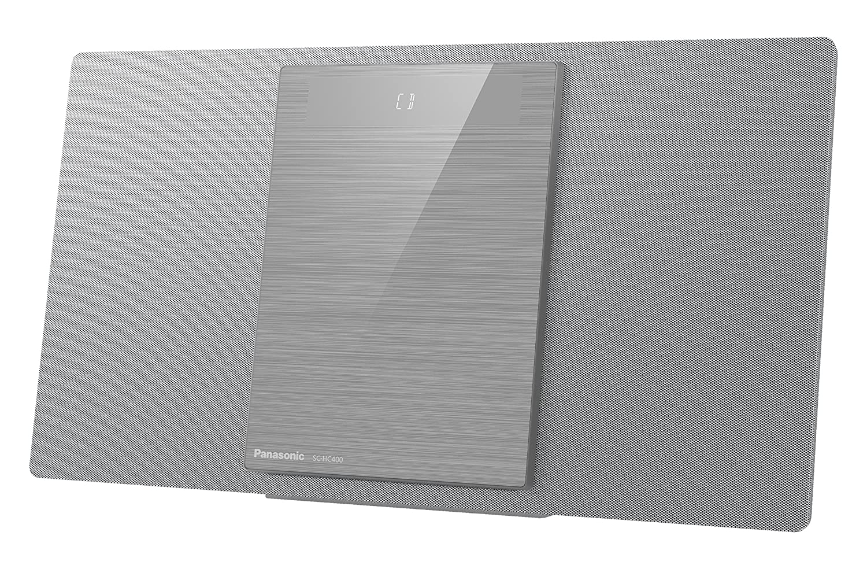 Panasonic sc-hc400eg-s–Microchaîne (40W, Bluetooth, Son Hi-FI, USB, MP3) Couleur Argent
