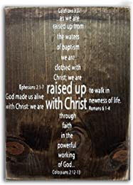 Sign - Raised Up With Christ - Four Scriptures