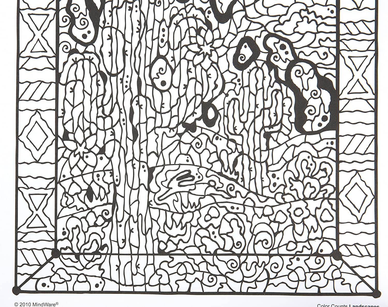 Mindware original coloring books coloring page for Color counts coloring pages