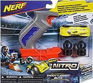 Nerf Lanzador Nitro Throttleshot Blitz, Color Gris