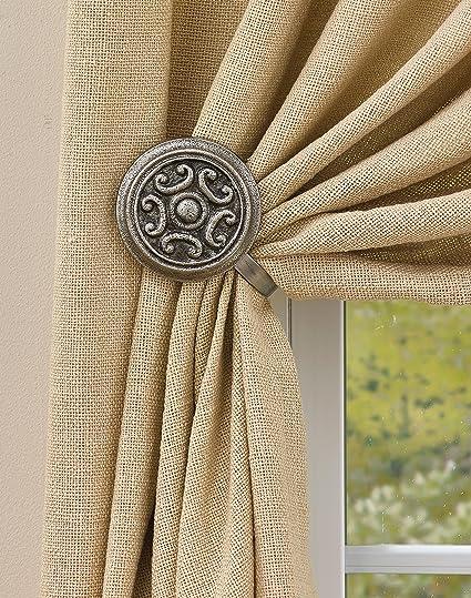 Park Designs Antique Doorknob Curtain Tie Backs