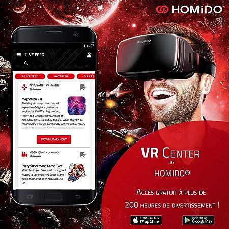 Homido Virtual Reality Headset for Smartphone: Amazon co uk