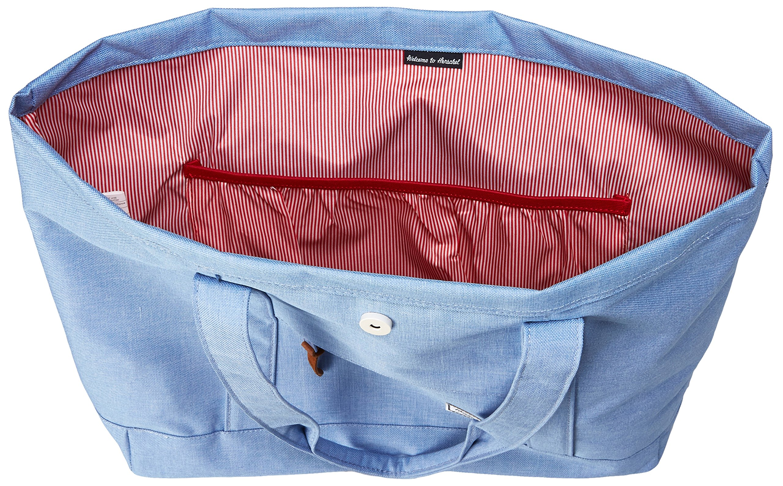Herschel Supply Co. Market X-Large Travel Tote, Chambray, One Size by Herschel Supply Co. (Image #8)